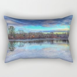 Winter at Caleb Smith Rectangular Pillow