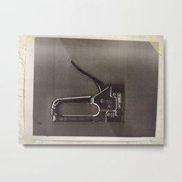 Stapler 2 Metal Print