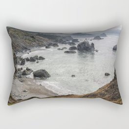 Rock Formations Around Sisters Rock State Park Rectangular Pillow