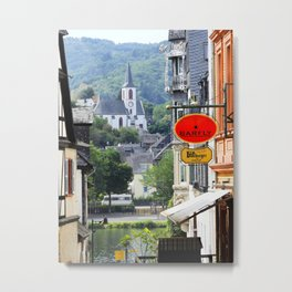 Trarbach as seen from Traben Metal Print