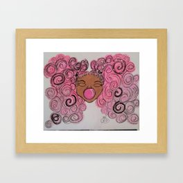 Princess Bubbles Framed Art Print
