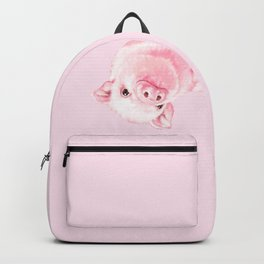 Sneaky Baby Pink Pig Backpack