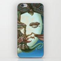 elvis presley iPhone & iPod Skins featuring Elvis Presley by Victor Molev
