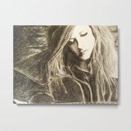 Avril Metal Print