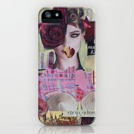 City NeuRoses iPhone Case