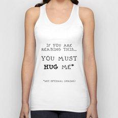 Hug Me! Unisex Tank Top