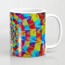 ZOOM #1 Vibrant Psychedelic Optical Illusion Coffee Mug