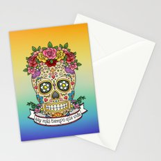There Is More Time Than Life Stationery Cards