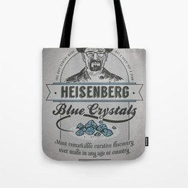 Heisenberg's Blue Crystals Remedy Tote Bag