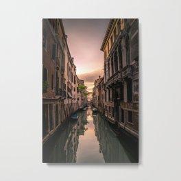 Canal of Venice Metal Print