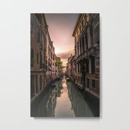 Canal of Venice Metal Print