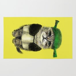 Shreky Cat Rug