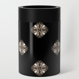 Simulated illuminated diamond pattern Can Cooler