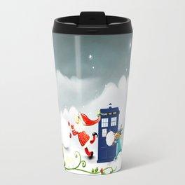 Tardis Santa Travel Mug