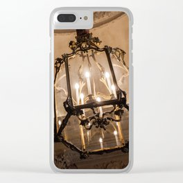 Lights of Versailles Clear iPhone Case