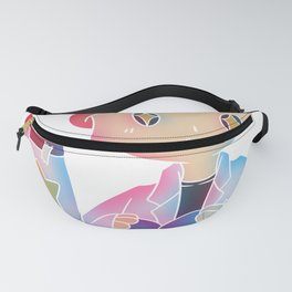 Science research rocket space Gift Fanny Pack