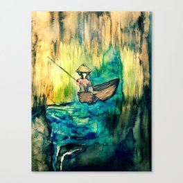 Tales on the Mekong Delta Canvas Print