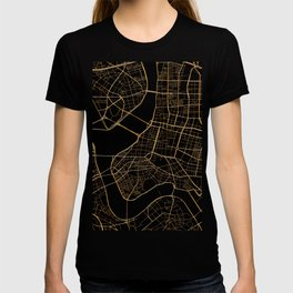 Taipei map, Taiwan T-shirt