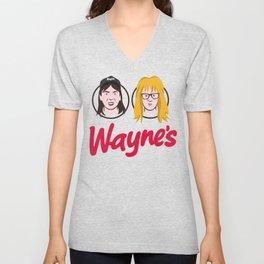 Wayne's Double Unisex V-Neck