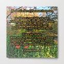 Flower Garden of Platinum Intention Poetry Art by indigowarrior
