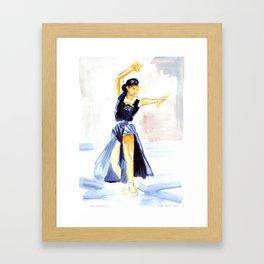 Dancer Cyd Charisse Framed Art Print