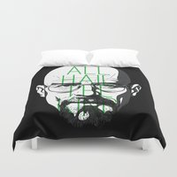 breaking bad Duvet Covers featuring breaking bad by nino benito