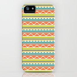 Citronique Series: Lignes Melon iPhone Case