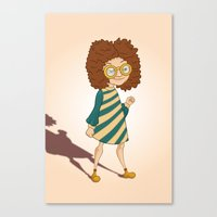 ginger Canvas Prints featuring Ginger by Zeynep Aktaş