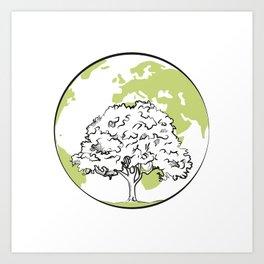 Tree Art Print