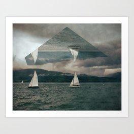 Emerge. Art Print