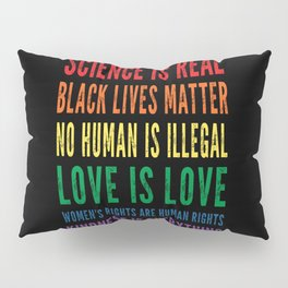 Science is real vintage design Pillow Sham