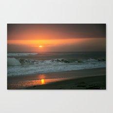 Ocean Sunrise Canvas Print