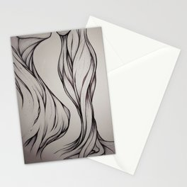 Hidden Curve Stationery Cards