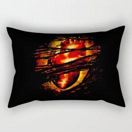 Heart of Fire Rectangular Pillow
