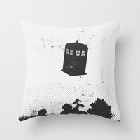 i want to believe Throw Pillows featuring I Want To Believe by Nicolas Beaujouan