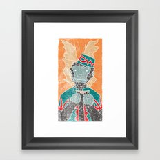 The Flying Chango Framed Art Print