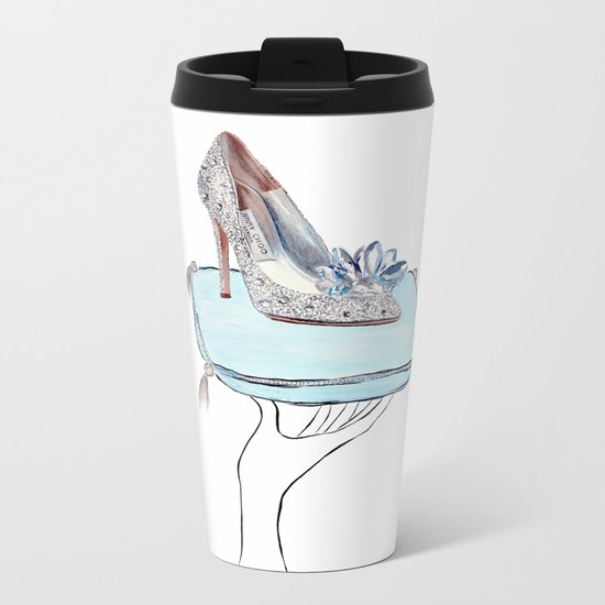 Cinderella slipper Metal Travel Mug