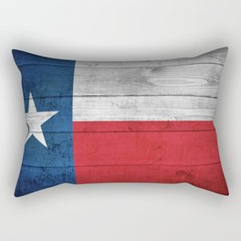 Texas State Flag Rectangular Pillow