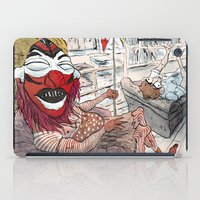 freud iPad Cases featuring Therapy by Sebastian Cabot