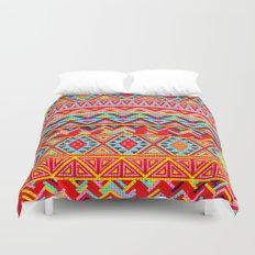 India Style Pattern (Multicolor) Duvet Cover