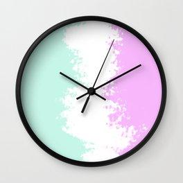 ice cream distrubtion Wall Clock