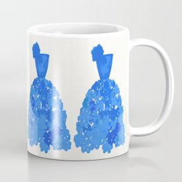 A Pretty Blue Dress Coffee Mug