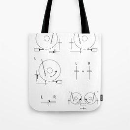 Drop a Beat! Tote Bag