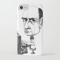 arnold iPhone & iPod Cases featuring Arnold Schoenberg by Gareth Southwell