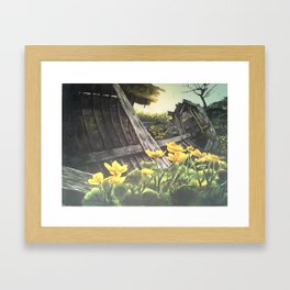 Careened Framed Art Print