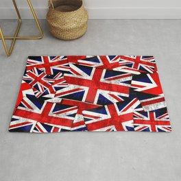 Union Jack British England UK Flag Rug