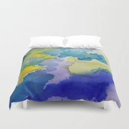 I dream in watercolor A Duvet Cover
