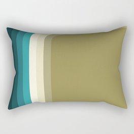 Graphic 876 // Cool & Drab Bend Rectangular Pillow