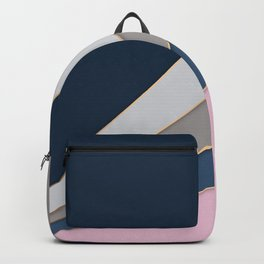 Abstract geometric pattern 2 Backpack