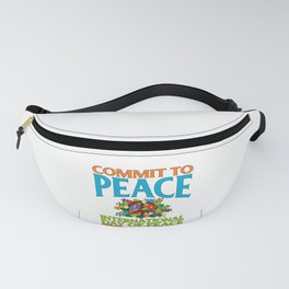 International Day of Peace September 21 End Wars Fanny Pack